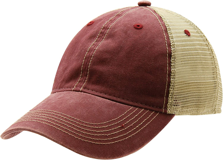 One Legging it Around got Eriks? Leather Light Brown Patch Engraved Trucker Hat