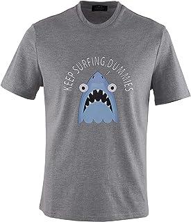 Voray Ga, 0140Voray Ga Camiseta Hombre algodón Estampado Dibujo Shark