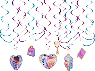 Foil Swirl Value Pack Decorations | Disney Doc McStuffins Collection | Party Accessory