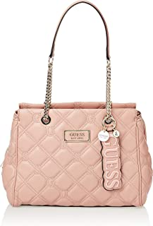 GUESS Womens Satchel Bag, Rose - VG745009