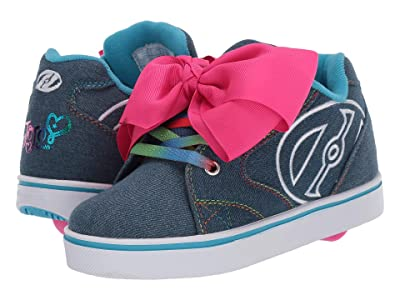 Heelys Propel Jojo (Little Kid/Big Kid/Adult) (Denim/Rainbow) Girl