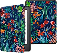 Fintie Slimshell Case for All-New Kindle (10th Generation, 2019 Release) - Premium Lightweight Protective PU Leather Cover with Auto Sleep/Wake for Amazon Kindle E-Reader (Z-Jungle Night)