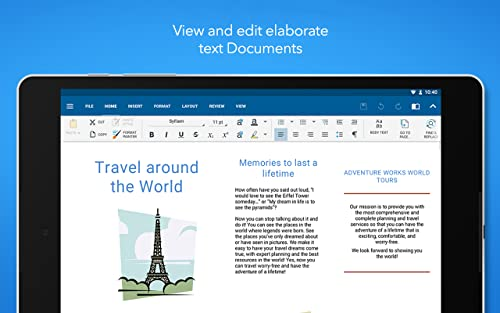 『OfficeSuite Professional』の2枚目の画像