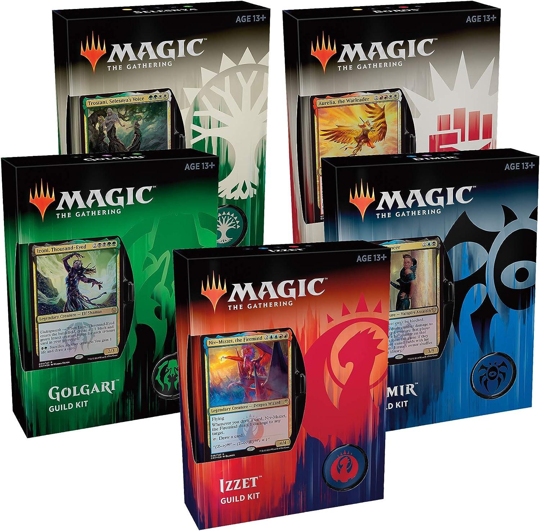 Wizards Of The Coast MTG-GRG-EN Magic The Gathering Ravnica Gilde Kit-Sent zufllig