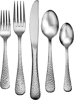 Liberty Tabletop Providence 65 Piece Flatware Set for 12 Made in USA