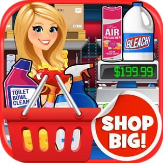 Supermarket Wholesale BIG Mega Warehouse: Shopping & Cash Register Simulator Kids