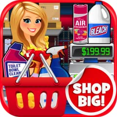 Supermarket Wholesale BIG Mega Warehouse: Shopping & Cash Register Simulator Kids is a fun game where you get to pretend shop BIG & in buy in BULK in the biggest most Super Sized Supermarket experience ever! Buy the largest items ever sold in a Wareh...