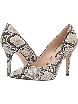 nine west animal print heels