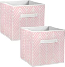 DII Foldable Fabric Storage Containers for Nurseries, Offices, Closets, Home Décor, Cube Organizers & Everyday Storage Nee...