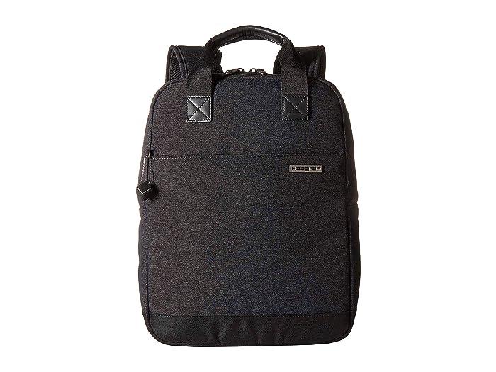 Hedgren Still Slim Backpack (Asphalt) Backpack Bags