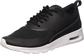 Nike Womens air max thea TXT Trainers 819639 Sneakers Shoes (US 7, Black Black 004)