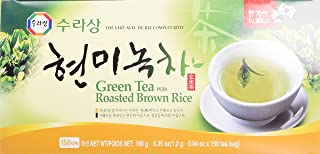 Green Tea with Brown Rice (Genmai-Cha) - 150 Bags