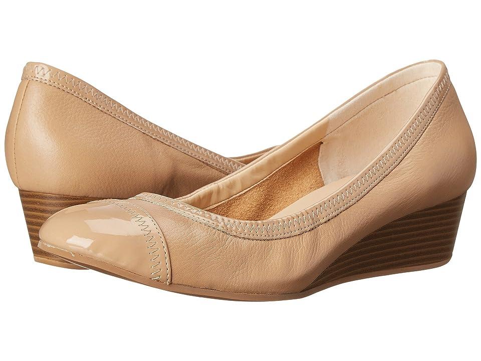 Cole Haan Elsie Cap Toe Wedge II (Maple Sugar/Patent) Women