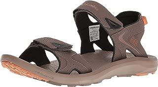 Columbia Men's TECHSUN Sport Sandal, mud, Canyon Gold, 13 Regular US