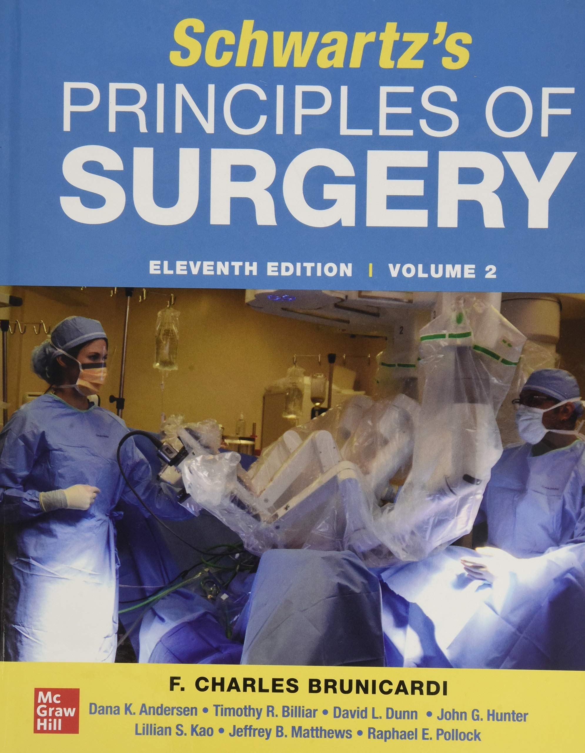 Image OfSCHWARTZ'S PRINCIPLES OF SURGERY 2-volume Set 11th Edition