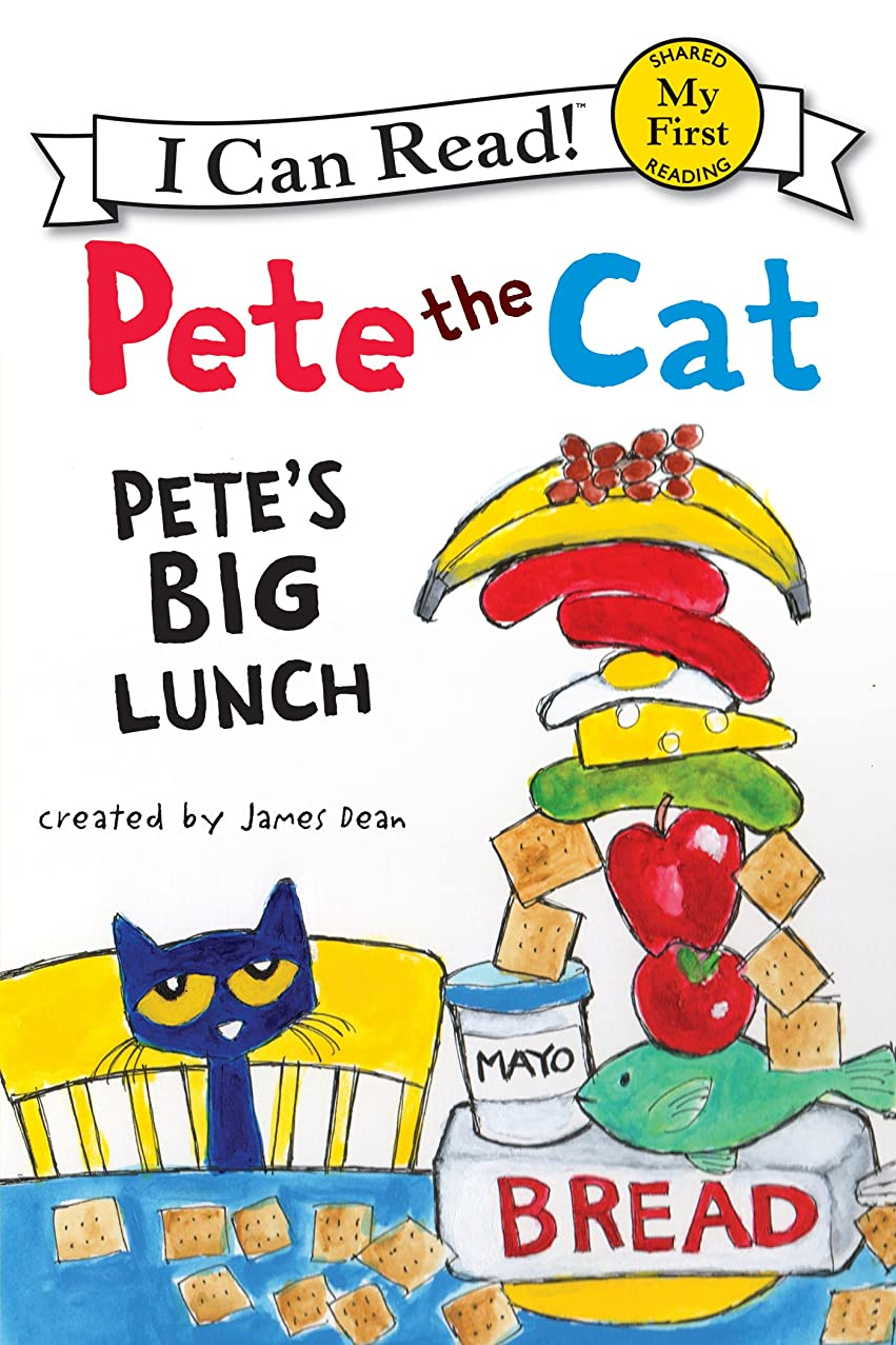 人事俳句敏感なPete the Cat: Pete's Big Lunch (My First I Can Read) (English Edition)