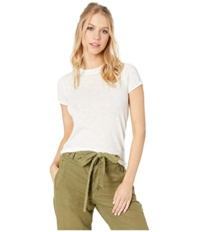 Free People Night Sky Tee Solid (Ivory) Women