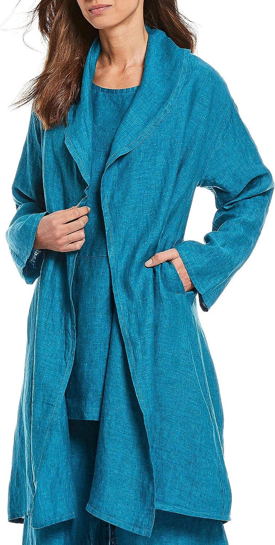 Bryn Walker Napoli Linen Marceline Jacket Cardigan Size L MSRP $198