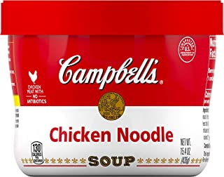 Campbell's Soup, Chicken Noodle, 15.4 oz (Pack of 8)