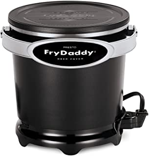 Presto 05420 FryDaddy Electric Deep Fryer,Black