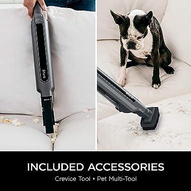 Shark WANDVAC System WS632 Ultra-Lightweight Powerful Cordless Stick Vacuum with Charging Dock, Slate Grey