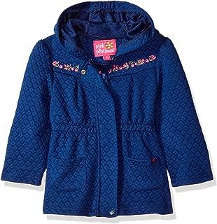 Pink Platinum Girls' Toddler Diamond Quilted Knit Jacket