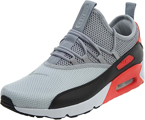 Intención Tibio disfraz  Amazon.com | Nike Mens Air Max 90 EZ Running Shoes Pure Platinum/Wolf  Grey/Black/Infrared AO1745-002 Size 10 | Road Running
