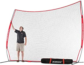 Rukket Barricade Backstop Net | Indoor and Outdoor Lacrosse, Basketball, Soccer, Field Hockey, Baseball, Softball Barrier Netting for Backyard, Park, and Residential Use