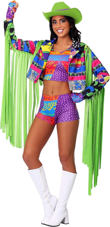 Woman's Macho Man Fancy Dress Costume Medium