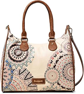 Luxury Fashion | Desigual Womens 19WAXPDHBEIGE Beige Handbag | Fall Winter 19