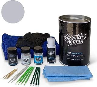 ScratchesHappen Exact-Match Touch Up Paint Kit Compatible with Peugeot Gris Cool Silver (9S/A31/KTS/M09S)