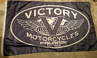 victory motorcycle flag