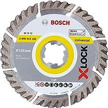 Bosch Professional elmas kesme diski, standart (evrensel, X-LOCK, delik çapı: 22,23 mm, kesme genişliği 2 mm), 2608615166