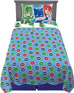 Franco Kids Bedding Super Soft Sheet Set, 3 Piece Twin Size, PJ Masks