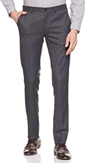 Amazon Brand - Symbol Men's Slim Fit Stretchable Formal Trousers