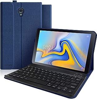 Keyboard Case for Samsung Galaxy Tab A 10.5 2018 Model SM-T590/T595/T597 Detachable Wireless Bluetooth Keyboard Slim Multiple Angle Stand Case for Galaxy 2018 10.5 Inch Tab A (Dark Blue)