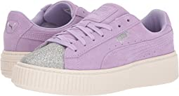 Puma Kids - Suede Platform Glam (Big Kid)