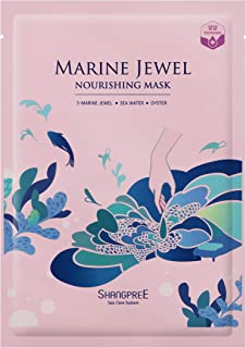 Shangpree Marine Jewel Nourishing Sheet Mask- Single Pack