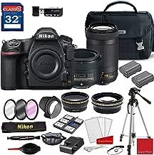 Nikon D850 DSLR Camera with AF-S NIKKOR 50mm f/1.8G Lens & 70-300mm ED Lens + Deluxe Accessory Kit (2 Battery Bundle)