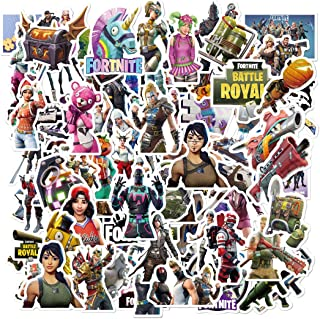 Fortnite Gaming Stickers (100 PCS) Quote Vinyl Decals Intensely Hued Pack for Laptop Water Bottle Bike Helmet Bbumper PS4,...