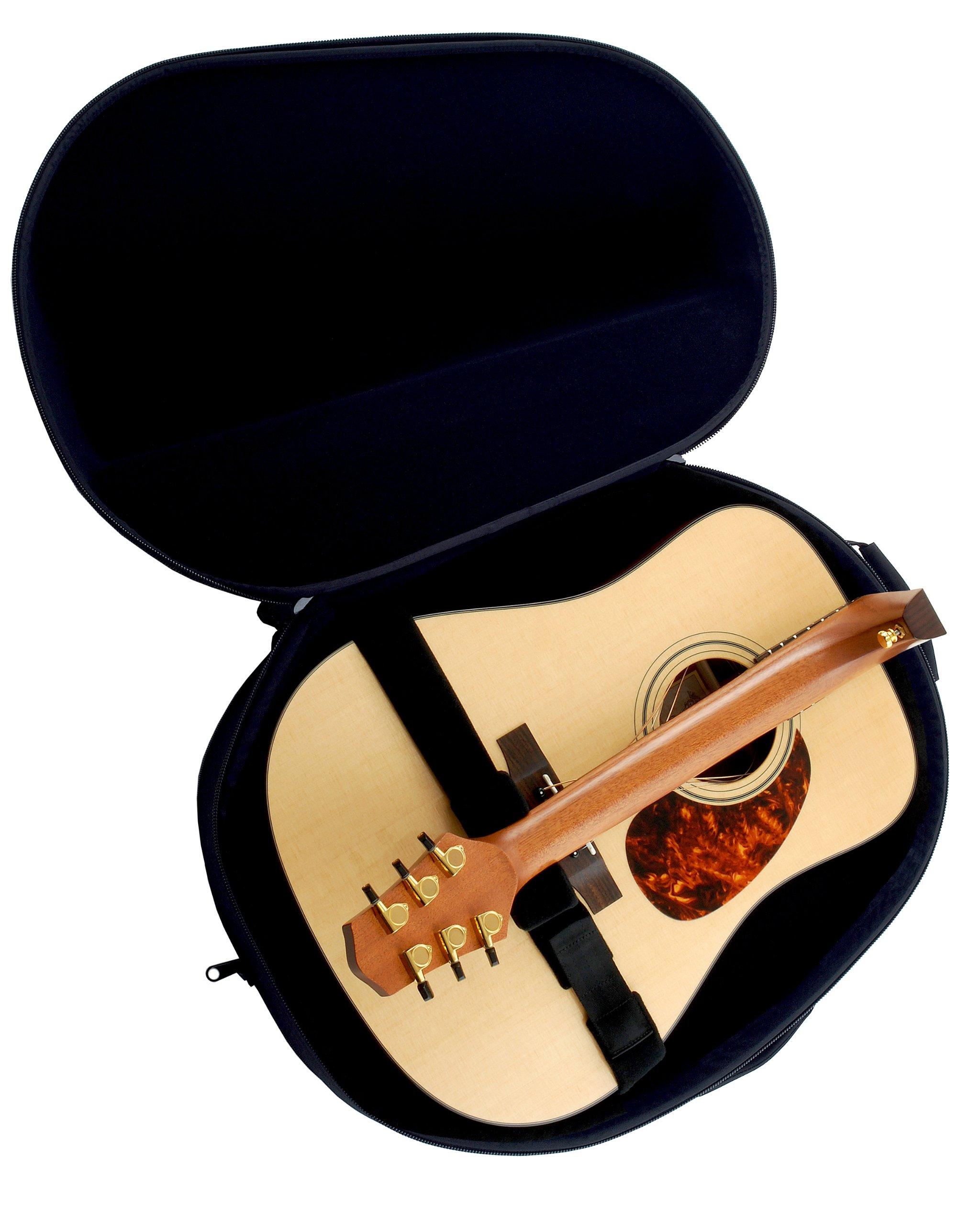 Voyage Air Guitar VAD-1 - Guitarra acústica con cuerdas metálicas (caoba, tipo dreadnought): Amazon.es: Instrumentos musicales