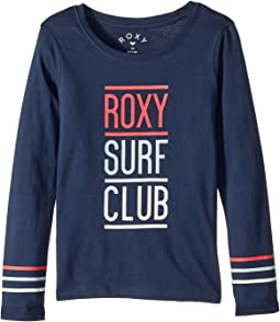 Roxy Kids - Lost in Dream Roxy Surf Club Long Sleeve Tee (Big Kids)