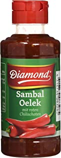 Diamond Sambal Oelek, sehr scharf PET Flasche, 6er Pack 6 x 200 grams