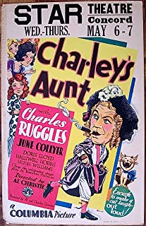 Best charley's aunt poster Reviews