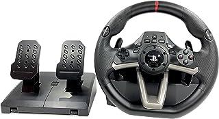 Volante y Pedales PS4 con Licencia Original Playstation 4 RWA Apex Incl. Multi vibración TouchSense® (PS4/PS3/PC) (Volante + Pedales)