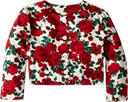 Floral Jacquard Jacket (Toddler/Little Kids/Big Kids)