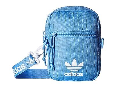 adidas Originals Originals Festival Bag Crossbody (Real Blue) Bags