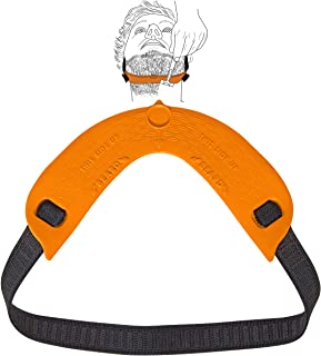 Quality Time Beard Neckline Shaper Guide; A Flexible and Adjustable Beard Template, Do-it-yourself Neck Haircut Trimmer To...
