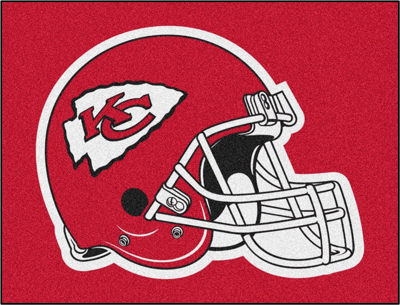 FANMATS NFL Kansas City Chiefs All-Star Nylon OFFicial Rug 34
