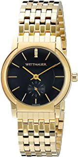 Wittnauer Womens WN4049 16mm Stainless Steel Gold Watch Bracelet
